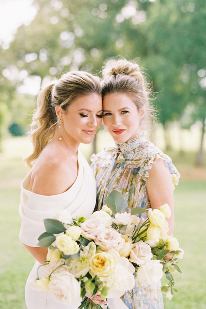 On-location wedding makeup and hair houston
